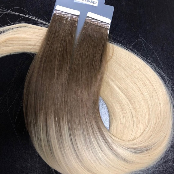 Jj Hair Nyc Accessories Tape In Human Hair Extensions 6613 300g
